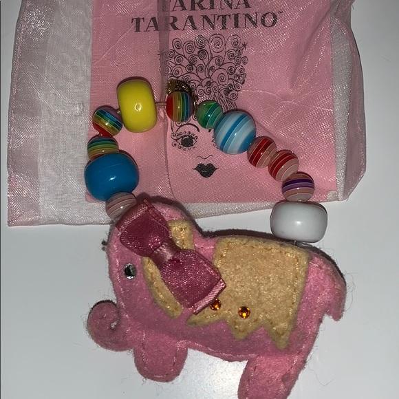 Tarina Tarantino Bambino elephant bracelet